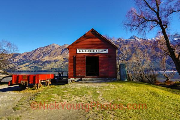 Glenorchy boat shed