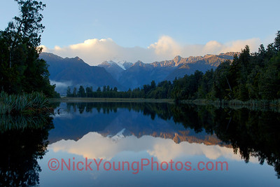 Lake Matheson reflection