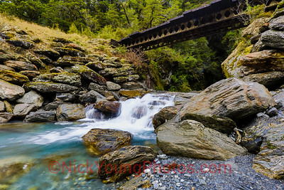 Haast Pass Bridle Track bridge