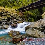 Haast Pass Bridle Track bridge