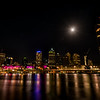 Full moon over Brisbane .01