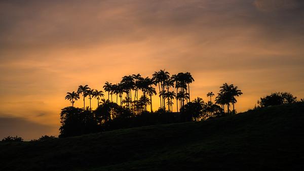 Sunset at Highlands