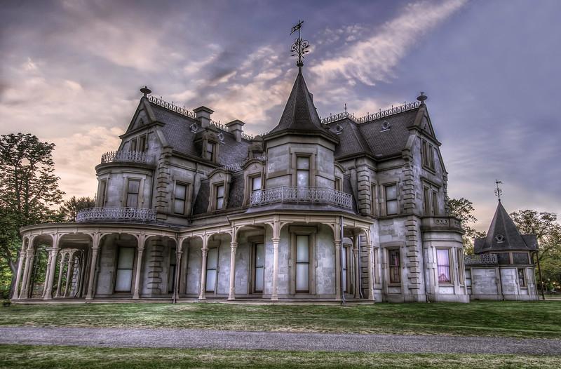 Lockwood-Mathews Mansion in Norwalk, CT.