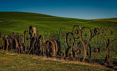 Wheel Fence, Washington State