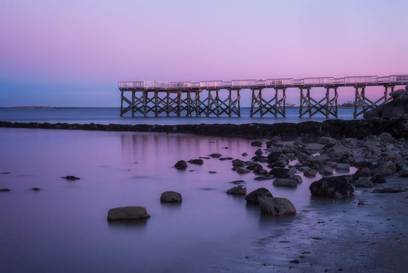 Calf Pasture Beach in Norwalk, CT.