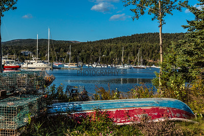 Abandoned Boat, Bar Harbor Maine