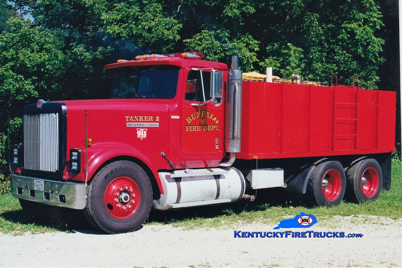 RETIRED<br /> Buffalo  Tanker 2<br /> 1985 International/Local 0/4000<br /> Greg Stapleton photo
