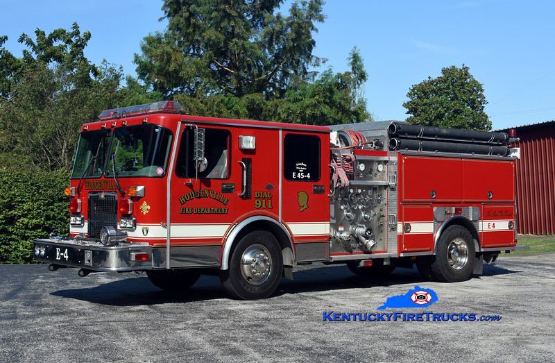Hodgenville  Engine 45-4<br /> x-Clayton, DE<br /> 1994 Spartan Advantage/Ferrara 1250/1000<br /> Kent Parrish photo