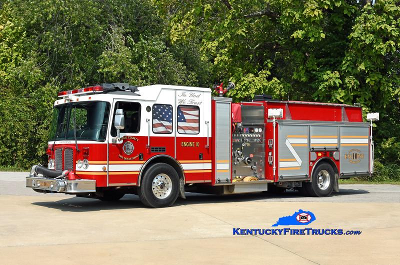 Larue County Engine 10<br /> x-Long Lake, MI <br /> 2006 HME Ahrens-Fox 1500/1000<br /> Kent Parrish photo