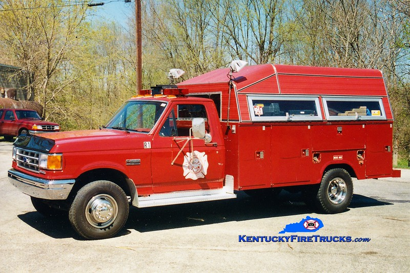 RETIRED<br /> Larue County  Rescue 1<br /> 1994 Ford F-350/Stahl<br /> Greg Stapleton photo