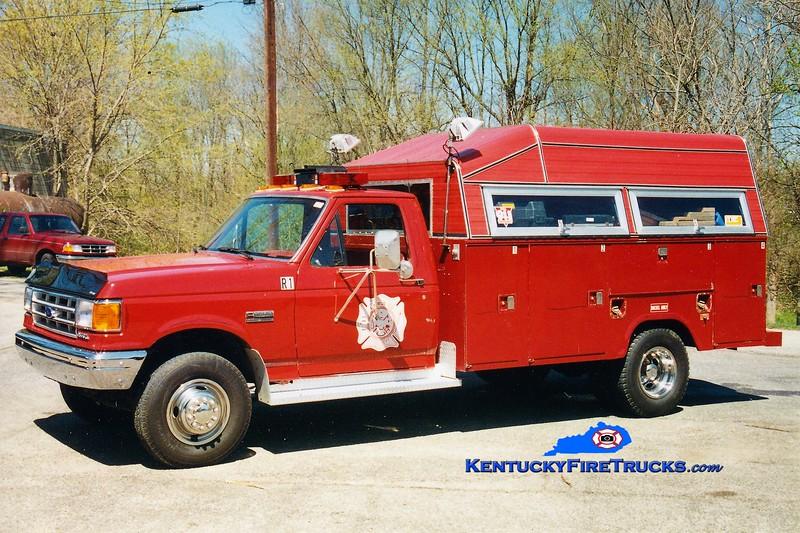 RETIRED<br /> Larue County  Rescue 1<br /> 1994 Ford F-350/Stahl<br /> Greg Stapleton photo