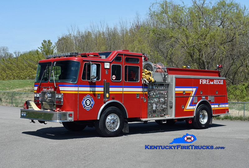 Magnolia  Engine 9<br /> x-Lyndon, KY <br /> 1994 KME Renegade 1250/500/25/25<br /> Kent Parrish photo