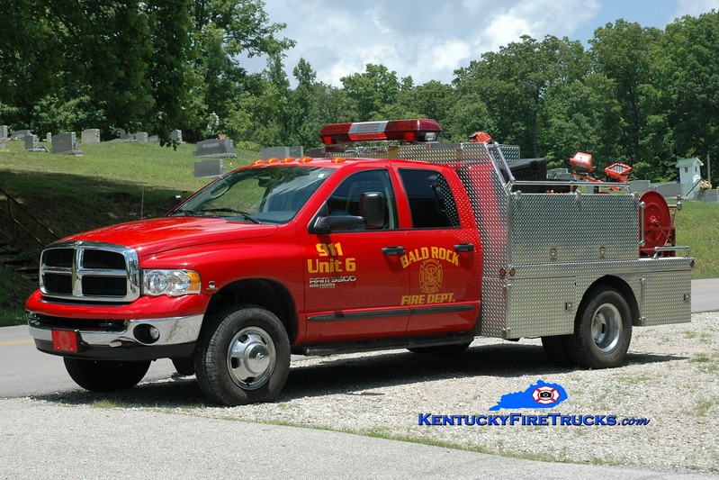 <center> Baldrock  Rescue 6 <br> 2005 Dodge 3500 4x4/Local 250/250 <br> Greg Stapleton photo </center>
