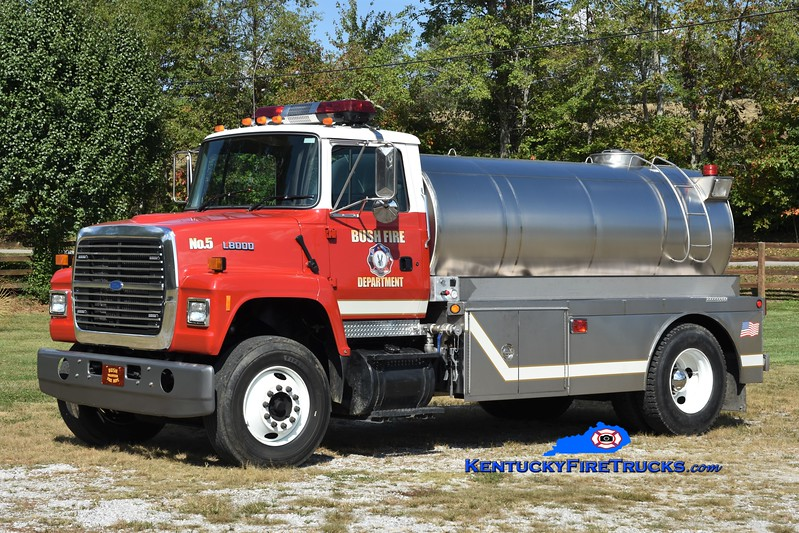 Bush  Tanker 5<br /> 1998 Ford L8000/Midstates Tank 500/2000<br /> Greg Stapleton photo