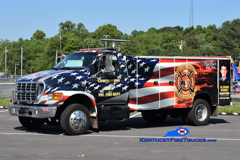 Campground  Truck 6<br /> 2002 Ford F-650/Knapheide/FD <br /> Greg Stapleton photo