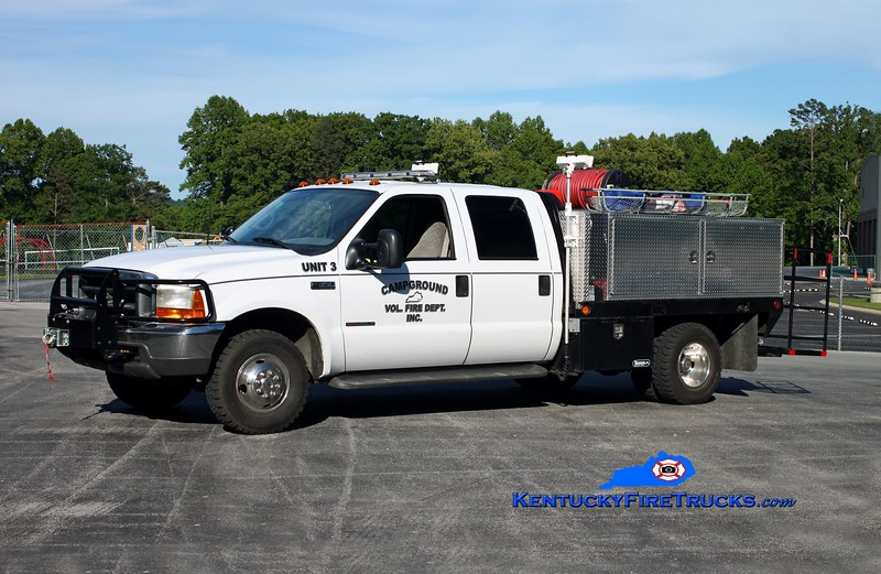 <center> Campground  Brush 3 <br> 1999 Ford F-350 4x4/CET 250/250 <br> Kent Parrish photo </center>