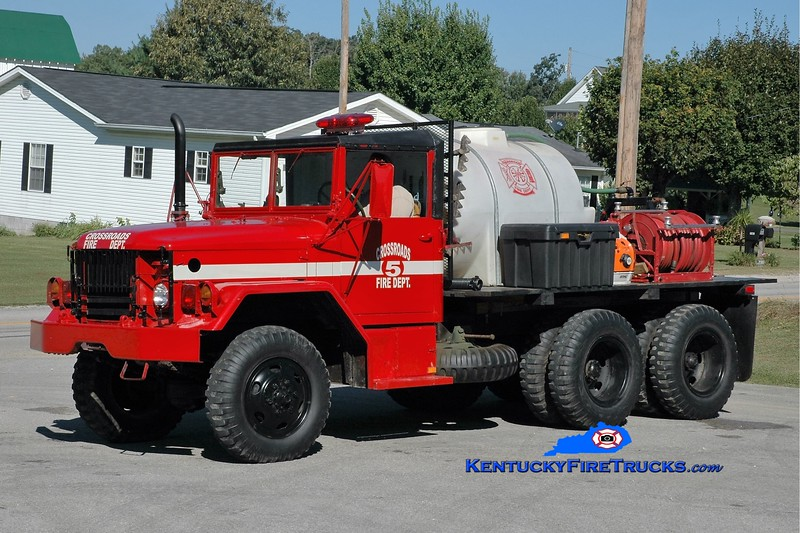 Crossroads  Tanker 5<br /> 1977 AM General M35/FD 250/500<br /> Greg Stapleton photo