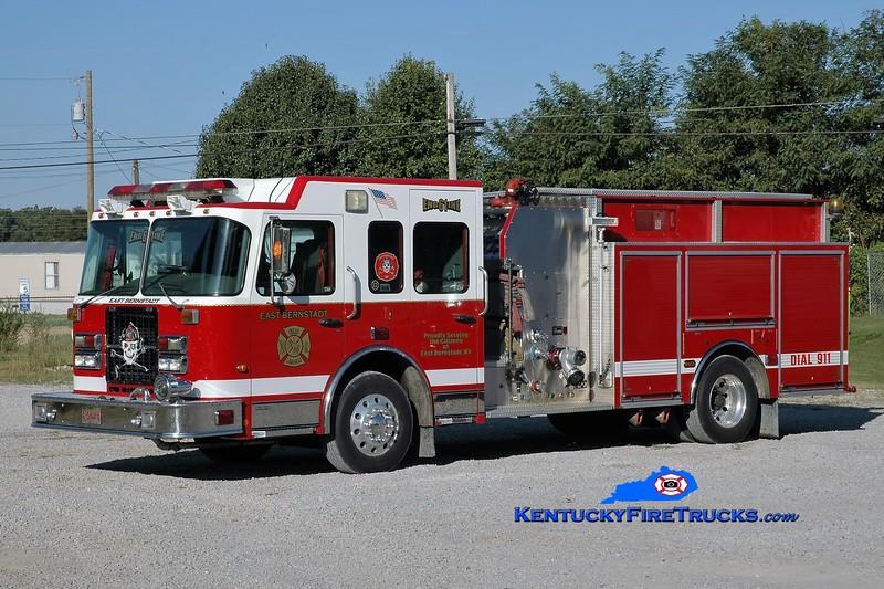 East Bernstadt Engine 61<br /> x-Brigantine, NJ <br /> 2006 Spartan/4 Guys 1750/1000<br /> Greg Stapleton photo