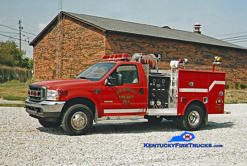 <center> RETIRED <br> East Bernstadt  Brush 2 <br> 2003 Ford F-350 4x4/Wynn 250/250 <br> Kent Parrish photo <br> </center>
