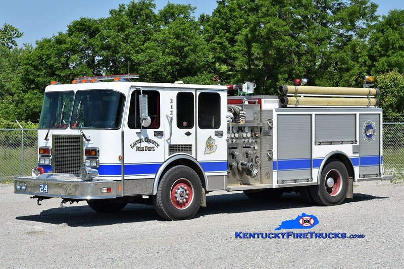 Laurel County  Engine 2124<br /> x-Hilton, KY & Earlington, KY<br /> 1991 Spartan/RD Murray 1250/500/25<br /> Greg Stapleton photo