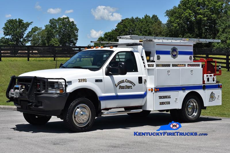 Laurel County Rescue 2192<br /> 2002 Ford F-450 4x4/Wynn 250/250<br /> Greg Stapleton photo
