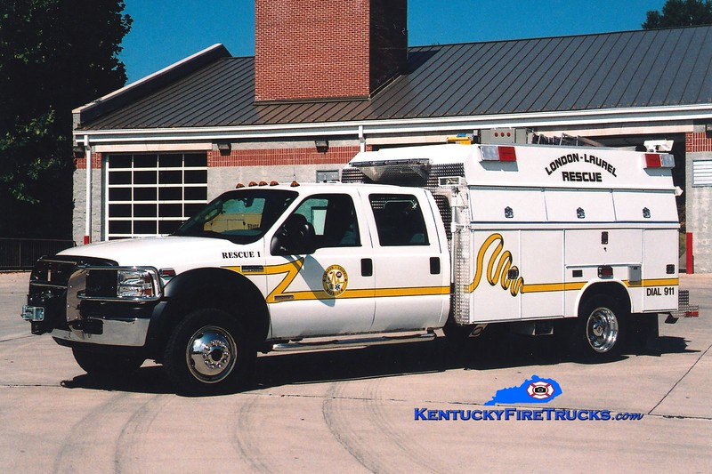 <center> London-Laurel Rescue 1 <br> 2006 Ford F-550 4x4/Reading-Fouts Bros <br> Greg Stapleton photo </center>