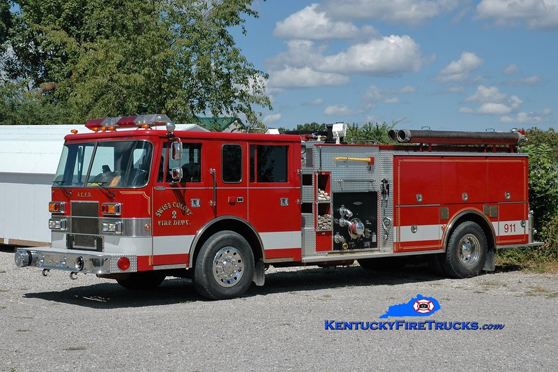 Swiss Colony  Engine 2<br /> x-Graniteville, SC<br /> 1993 Pierce Saber 1250/1000<br /> Greg Stapleton photo