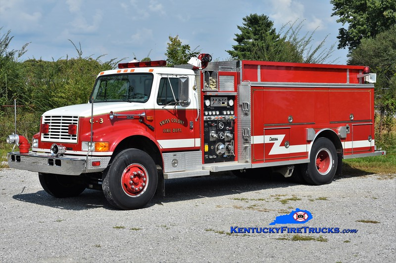 Swiss Colony Tanker 3<br /> x-Lavelle, PA <br /> 1995 International 4900/Central States 1000/1500<br /> Greg Stapleton photo