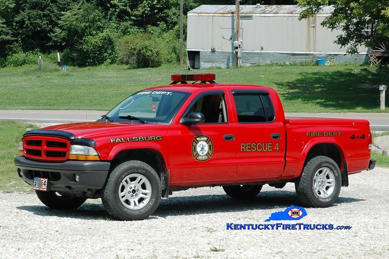 <center> Fallsburg  Rescue 4 <br> 2003 Dodge Dakota 4x4 <br> Greg Stapleton photo </center>