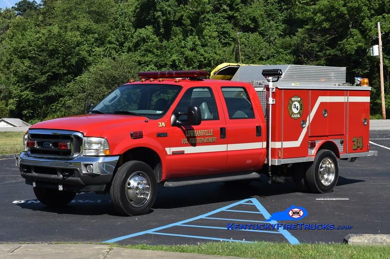 Lowmansville  Rescue 34<br /> 2003 Ford F-550/E-One<br /> Greg Stapleton