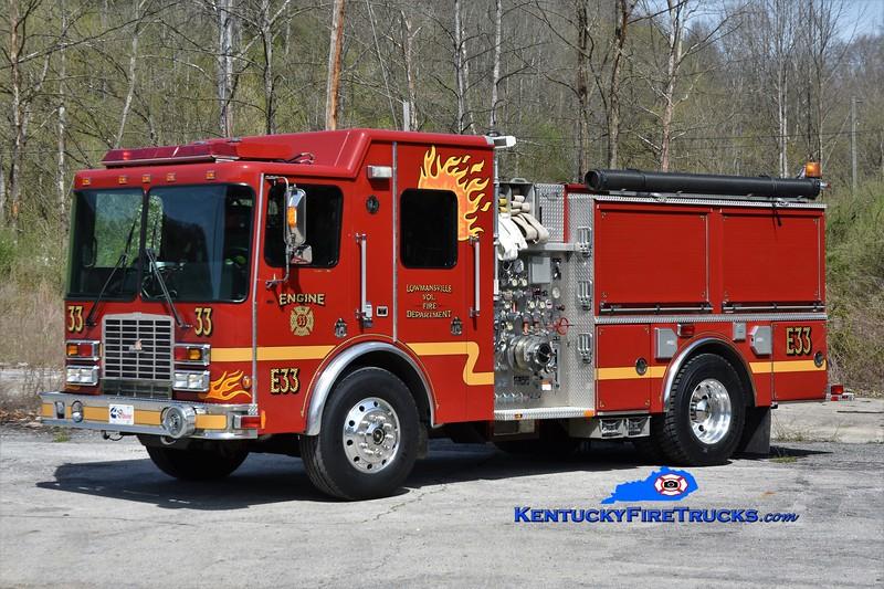 Lowmansville Engine 33<br /> x-Provincetown, ME<br /> 2003 HME/Ferrara 1500/500/70<br /> Greg Stapleton photo