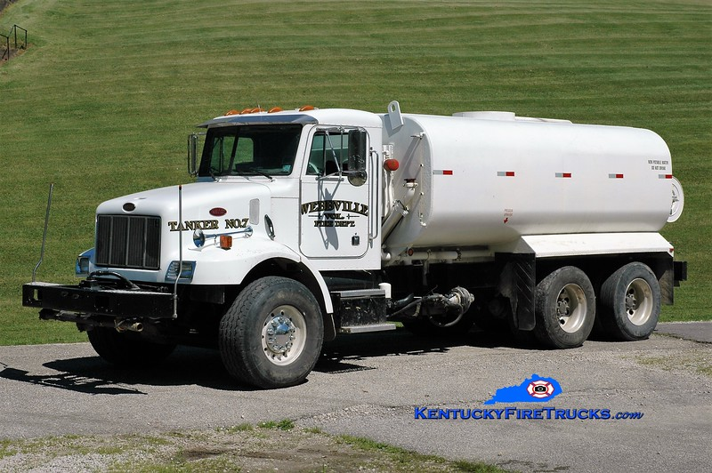 Webbville  Tanker 7<br /> 2003 Peterbilt/Local 400/4500<br /> Greg Stapleton photo