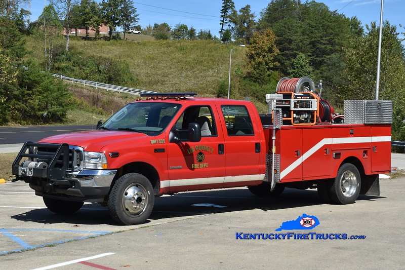 Lee County  Rescue 335<br /> x-Camp Dick, KY<br /> 2003 Ford F-350 4x4/Stahl/UPF/2012 FD 250/250<br /> Greg Stapleton photo