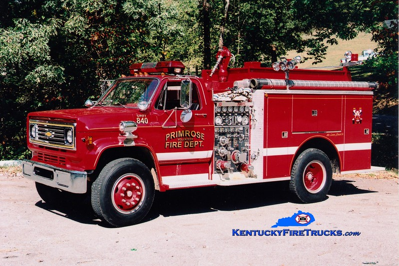 <center> RETIRED <br> Primrose  Engine 840  <br> x-Troy, MI <br> 1980 Chevy/Pierce 1000/500 <br> Greg Stapleton photo <br> </center>