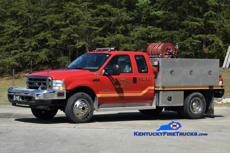 Tri-Community  Rescue 930<br /> x-Lee County, KY <br /> 2004 Ford F-350 4x4/UPF 250/250<br /> Greg Stapleton photo
