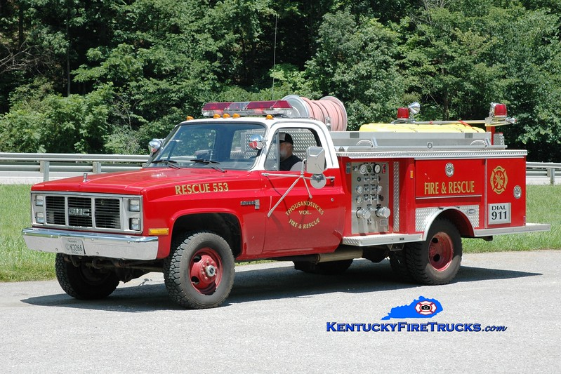 <center> Thousandsticks  Rescue 555  <br> 1988 GMC 4x4/E-One 300/250 <br> Greg Stapleton photo <br> </center>