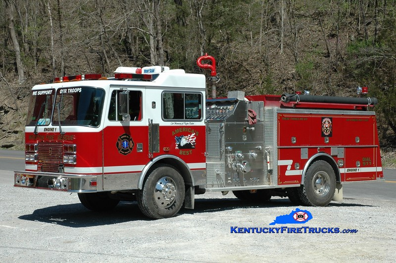 Wooten  Engine 451<br /> x-Fincastle, VA <br /> 1993 KME Renegade 1250/1000<br /> Greg Stapleton photo