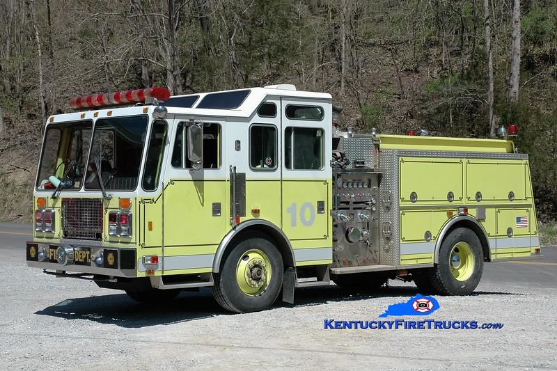 Wooten  Rescue 451<br /> x-Lynchburg, VA<br /> 1994 KME Renegade 1500/500/50<br /> Greg Stapleton photo