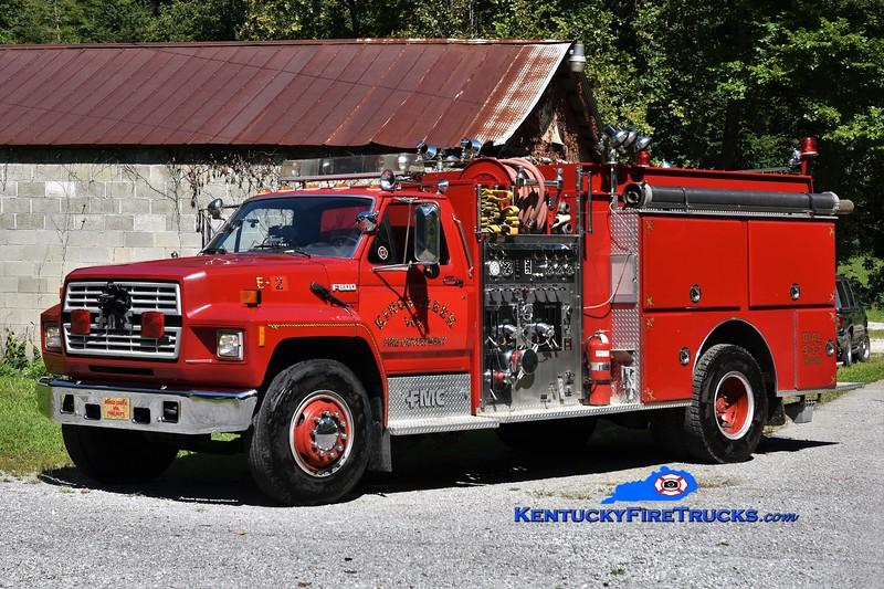 Kings Creek  Engine 2<br /> x-Massena, NY<br /> 1989 Ford F-800/FMC 1250/1000<br /> Greg Stapleton photo