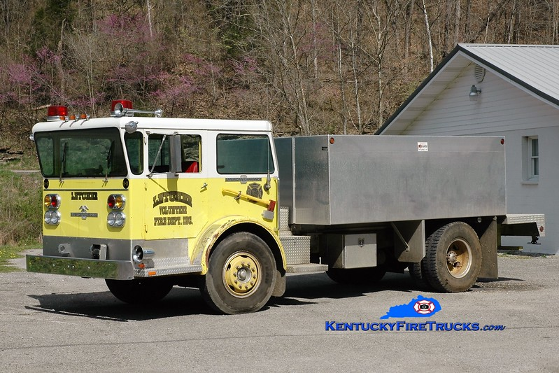 Letcher  Tanker 3<br /> x-North Garden, VA <br /> 1974 American LaFrance Pioneer II/2009 Reynolds 50/2000<br /> Greg Stapleton photo