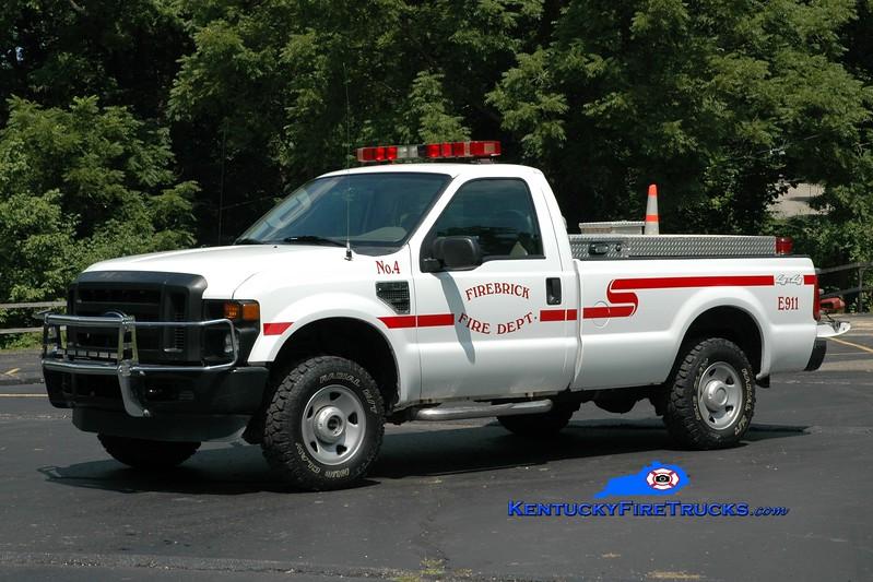 <center> Firebrick  Brush 4 <br> 2008 Ford F-250 4x4/FD 250/250 <br> Greg Stapleton photo </center>