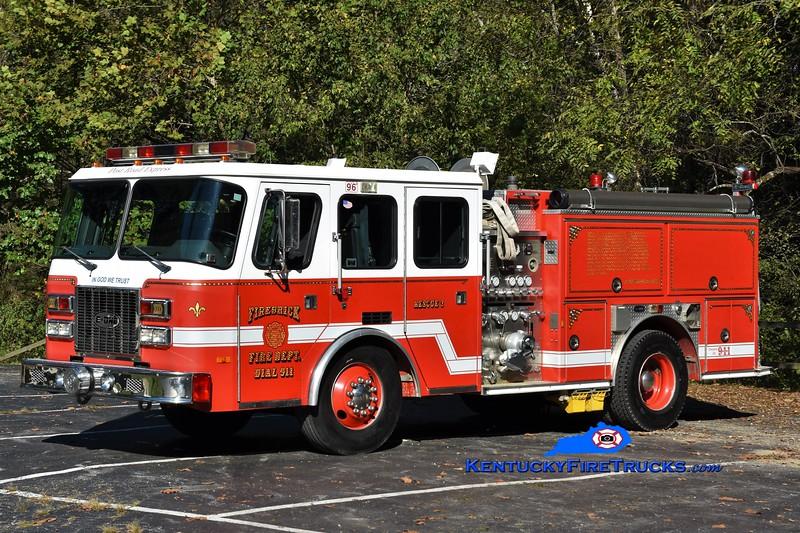 Firebrick  Rescue 3<br /> x-Weston, MA<br /> 1996 E-One Sentry 1250/500<br /> Greg Stapleton photo