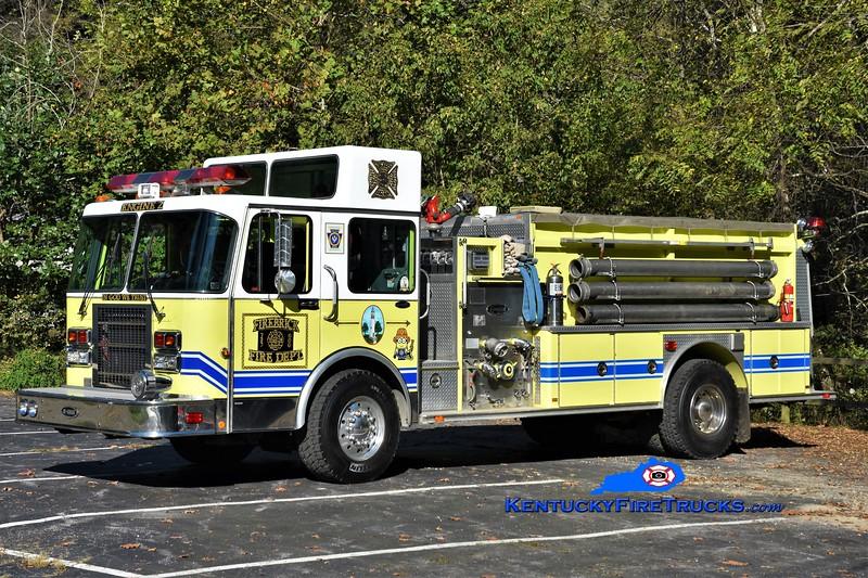 Firebrick  Engine 2<br /> x-Gap, PA<br /> 1990 Spartan/E-One 1500/1500<br /> Greg Stapleton photo