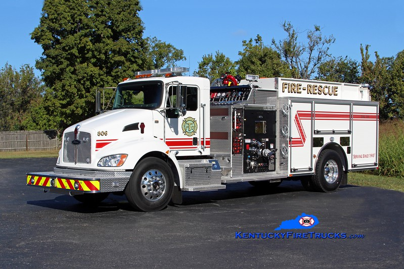 Tollesboro  Engine 806<br /> 2016 Kenworth T-300/Pierce 1250/1000/CAFS-30<br /> Kent Parrish photo