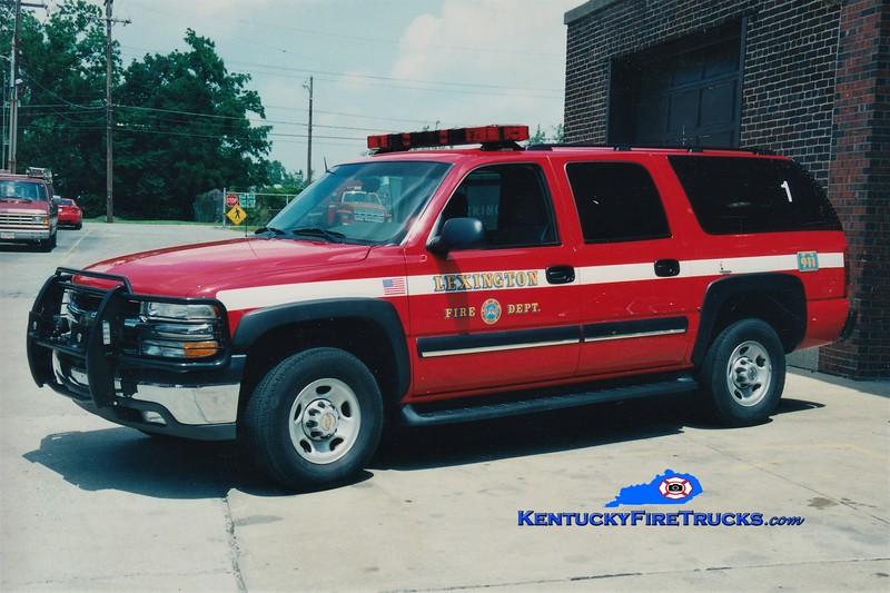 Lexington Car 201<br /> 2003 Chevy Suburban 4x4<br /> Greg Stapleton photo