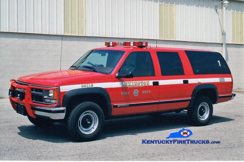 Lexington Car 201<br /> 1999 Chevy Suburban 4x4<br /> Greg Stapleton photo