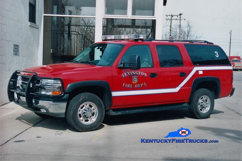 Lexington Car 203<br /> 2006 Chevy Suburban 4x4<br /> Greg Stapleton photo