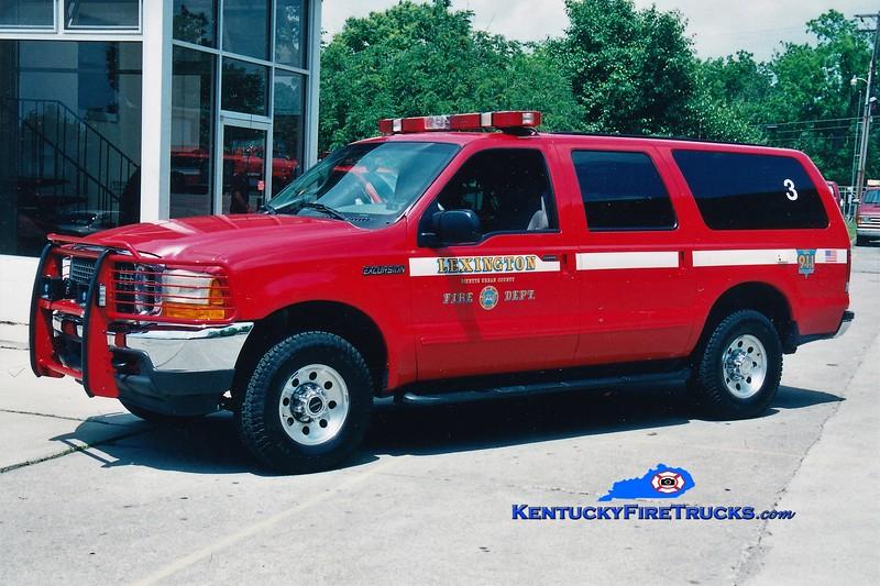 Lexington Car 203<br /> 2000 Ford Excursion 4x4<br /> Greg Stapleton photo