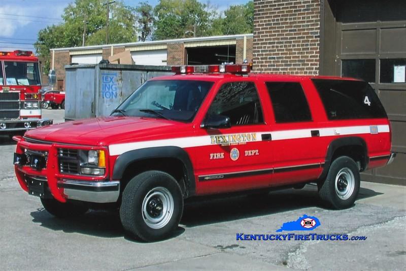Lexington Car 204<br /> 1999 Chevy Suburban 4x4<br /> Greg Stapleton photo