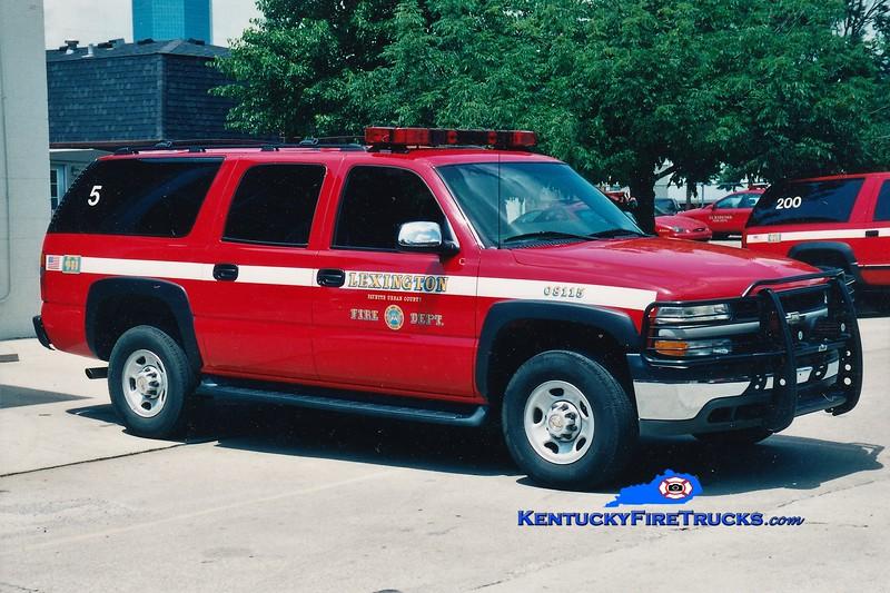 Lexington Car 205<br /> 2002 Chevy Suburban 4x4<br /> Greg Stapleton photo